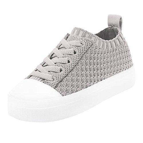 Native Kids Shoes Unisex Jefferson 2.0 Liteknit (Toddler/Little Kid) Pigeon Grey/Shell White 9 M US Toddler