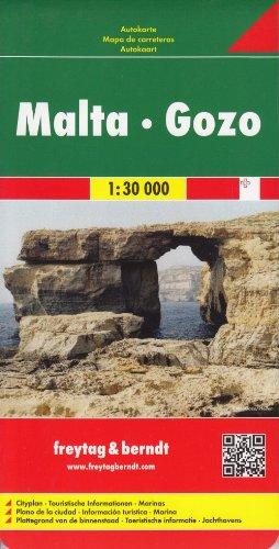 Freytag Berndt Autokarten, Malta - Gozo 1:30.000 (Road Maps)
