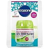 Ecozone Forever Flush 2000, Toilet Block, Jade, Cleans and Sanitises, Lasts Up To 2000 Flushes, Vegan