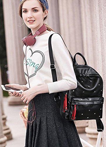 CLOTHES- Borsa a tracolla delle signore Borsa selvaggia della personalità di versione coreana del sacchetto dello zaino del mummia di svago di modo semplice