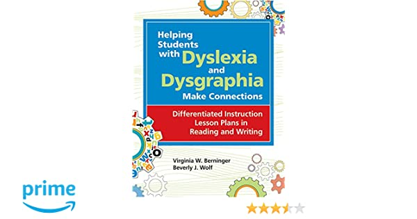 Helping Students with Dyslexia and Dysgraphia Make Connections ...
