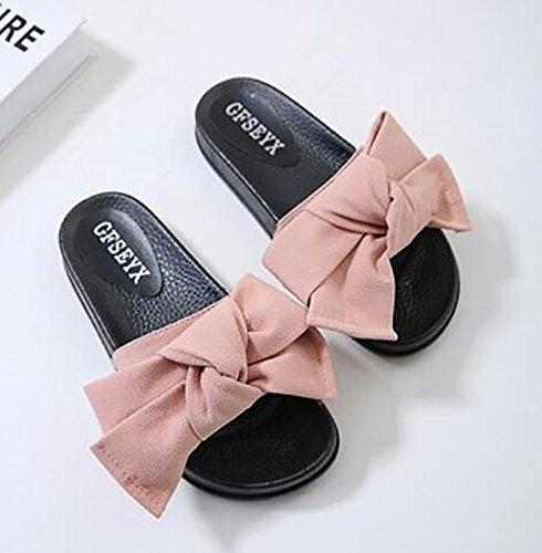 Arc Pink Sandale Nouveau Été Mode Tongs SHANGXIAN Pantoufles Casual Femmes 42 Plage ctgvnq0wq