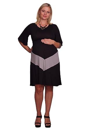 Plus Size Chevron Maternity Dress At Amazon Womens Clothing Store