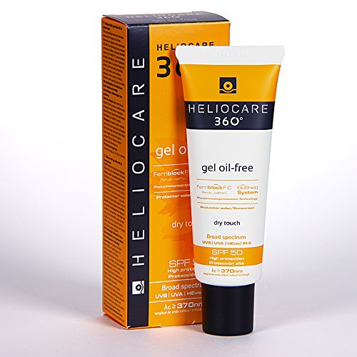 Heliocare 360° Gel Oil-free SPF 50 UVA, UVB Sunscreen 50ml by Heliocare