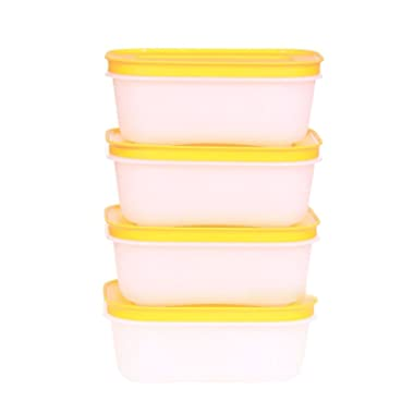 Tupperware FreezerMates Small Low Set (4)