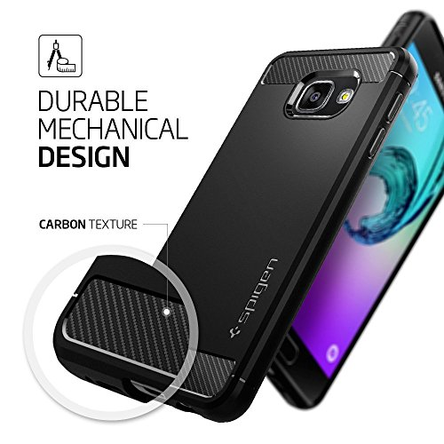 coque samsung galaxy a3 2016 spigen rugged armor. Black Bedroom Furniture Sets. Home Design Ideas