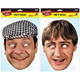 TWIN PACK - Del Boy & Rodney -Only Fools and Horses Licensed Character Face Masks