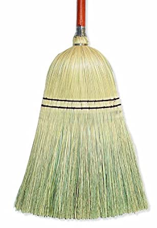 "Wilen E513500, Toy Blend Broom with 7/8"" Handle, 25-3/4"" Length (Case of 12)"