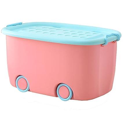 Storage Box Caja de Almacenamiento Grande para niños, Caja de Almacenamiento de plástico para Ropa