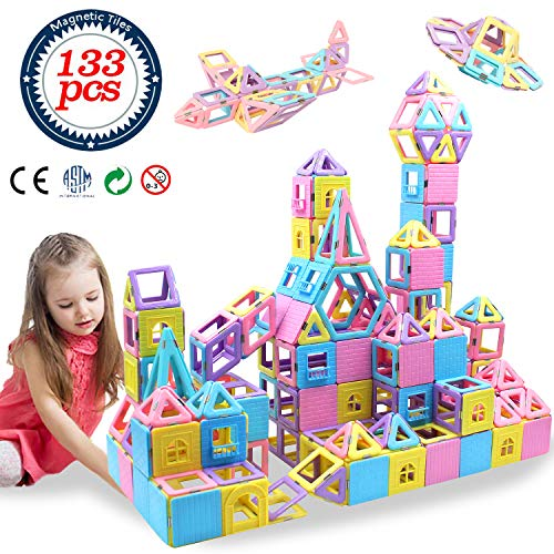 HLAOLA Magnetic Blocks 133PCS