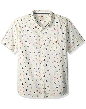 Men's Carrion Short Sleeve Woven Shirt