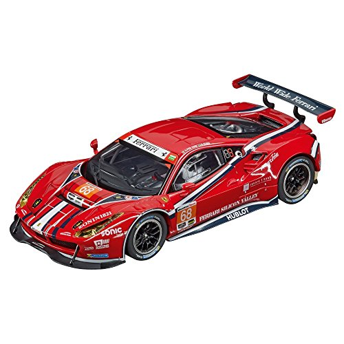 Carrera Digital 132 Slot Cars (Carrera 20030809 Digital 132 Ferrari 488 Scuderia Corsa Slot Car)