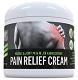 Pain Relief Cream (3 Oz) for Arthritis - Sore Muscles and Joint Pain - Analgesic Anti Inflammatory Pain Reliever for Recovery & Healing of Back Pain - Sprains, Aches & Bruises by Body Toolbox