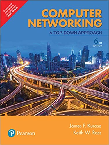 Computer networking a top-down approach international edition.