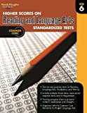 Higher Scores on Reading and Language Arts Standardized Tests, Grade 6, STECK-VAUGHN, 0547898509