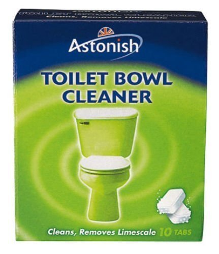 Astonish Toilet Bowl Cleaner - Pack of 10 Tablets