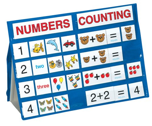 Lauri Tabletop Pocket Charts - Numbers and Counting