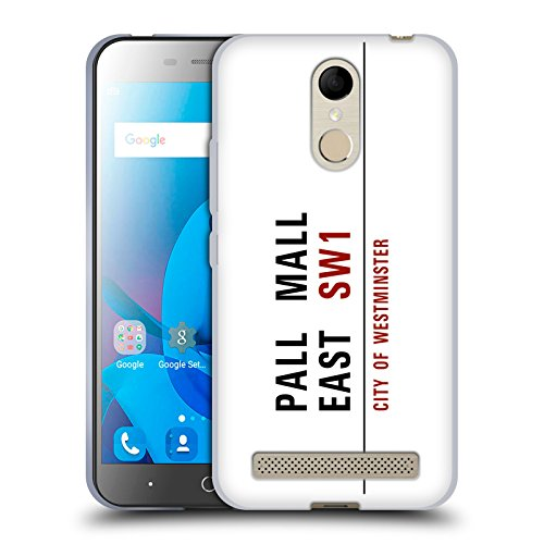 Official City Of Westminster Pall Mall East Street Signs 3 Soft Gel Case for ZTE Blade - Mall Westminster