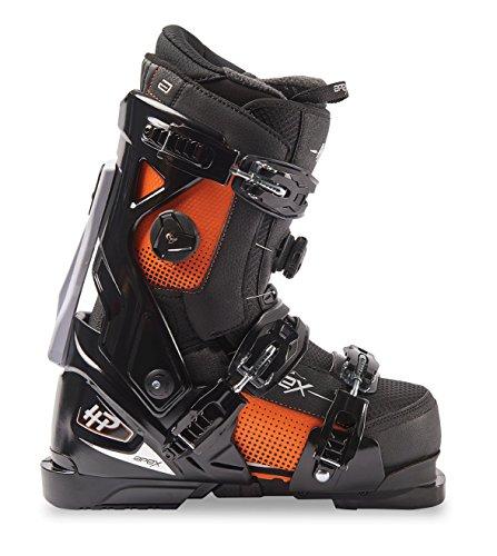 Medium Fit Ski Boots - Apex HP 28 Alpine Ski Boots, Black, Medium