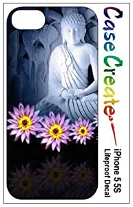 New Style Buddha Buddhist Decorative Sticker Decal for your iPhone 5 5S Lifeproof Case