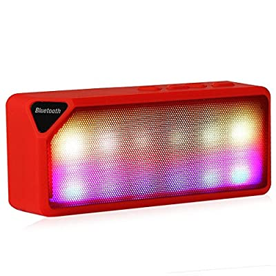 Mini Bluetooth Speaker X3S TF USB FM Radio Wireless Portable Music Sound Box Subwoofer Loudspeakers with Mic for iOS Android