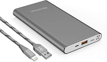 BENANNA 10000mAh Dual Input Portable Power Bank