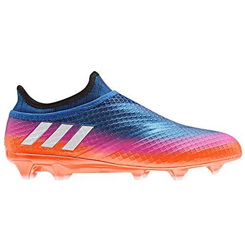 Adidas Messi 16+ PUREAGILITY FG Cleat Men's Soccer 7 Blue-Running White-Solar Orange