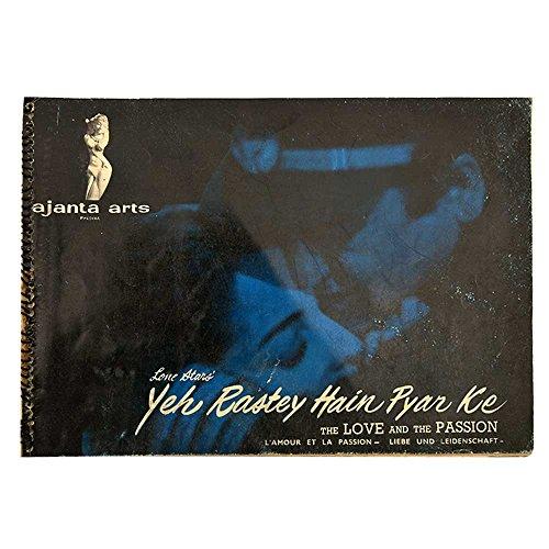 Indian Shelf Handmade Paper Vintage Movie BookletYeh Raste