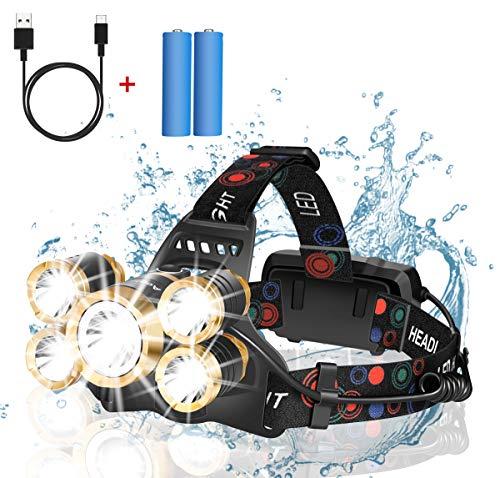 Headlamp Rechargeable12000 Lumen Ultra