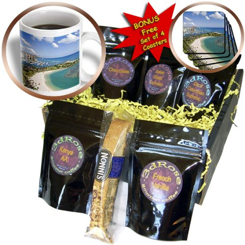 Danita Delimont - Hawaii - Ala Moana, Honolulu, Hawaii - US12 DPB0486 - Douglas Peebles - Coffee Gift Baskets - Coffee Gift Basket - Moana Hawaii Ala