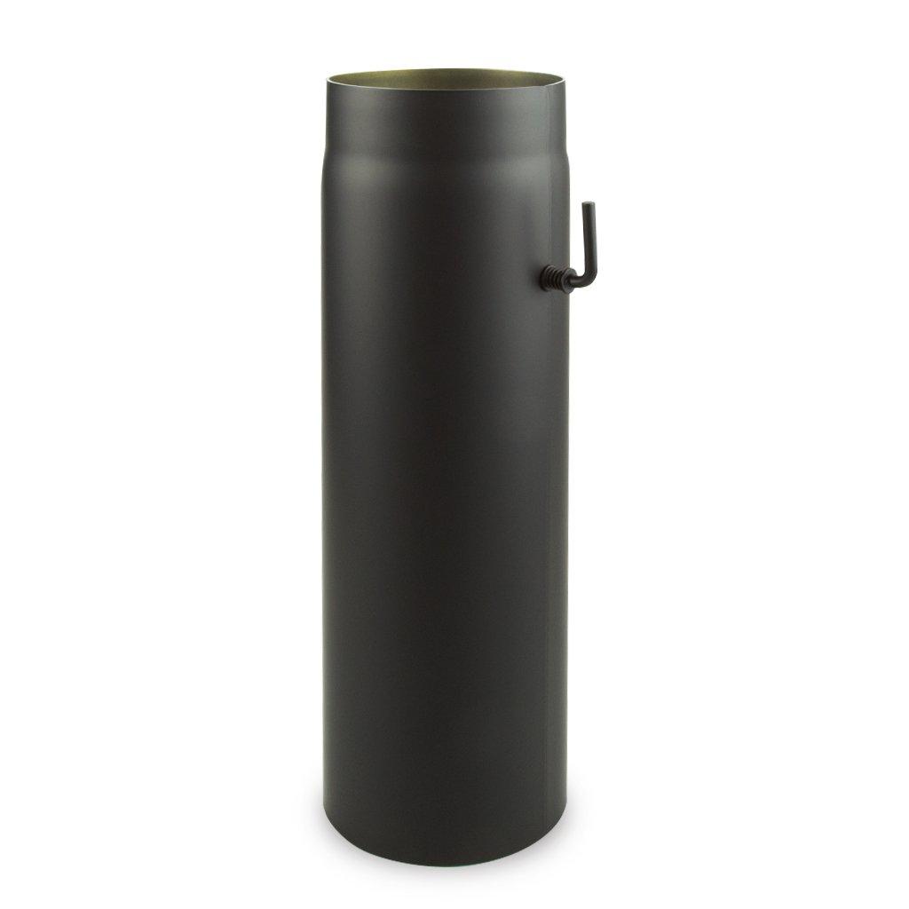 Ø 150 mm mm mm - Ofenrohr 100 cm Schwarz 5b83b9