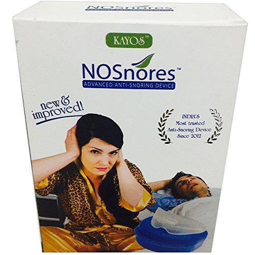 Kayos Nosnores Anti Snoring Device – Snoring Mouthguard for Sleep Apnea – Stops Snoring Instantly