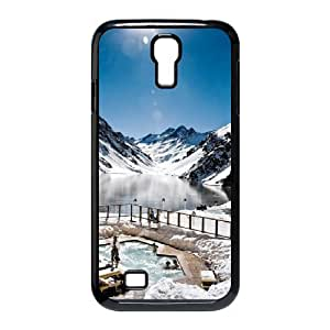 Samsung Galaxy S4 Cases, Swiss Alps, Switzerland Jet Setter the Coolest Honeymoon Destinations of 2014 Men Cool Cases for Samsung Galaxy S4 {Black}
