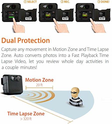 Brinno MAC200DN Portable Motion Activated Wireless Outdoor Security Camera (Black) by Brinno (Image #5)