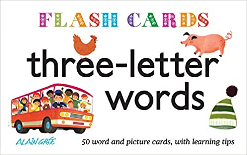 Three Letter Words Flash Cards Amazon Alain Gree