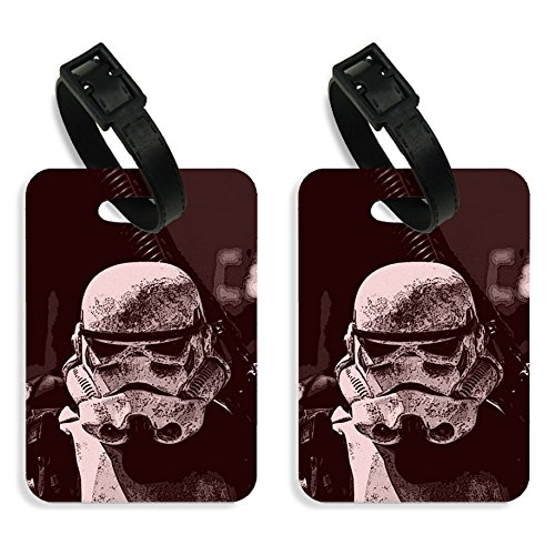 exciting Lives Stormtrooper Luggage Tags Set of Two