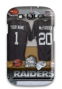 New Style JoelNR Oaklandaiders Premium Tpu Cover Case For Galaxy S3