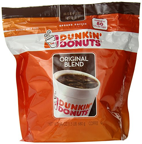 Dunkin' Donuts Original Blend Coffee, 24 Ounce