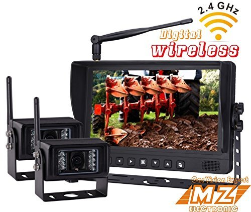 Digital Wireless Rear View Backup Camera System, 9