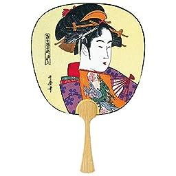 Japanese Uchiwa (Paddle Fan) Fushimiueno Kyokushodo \