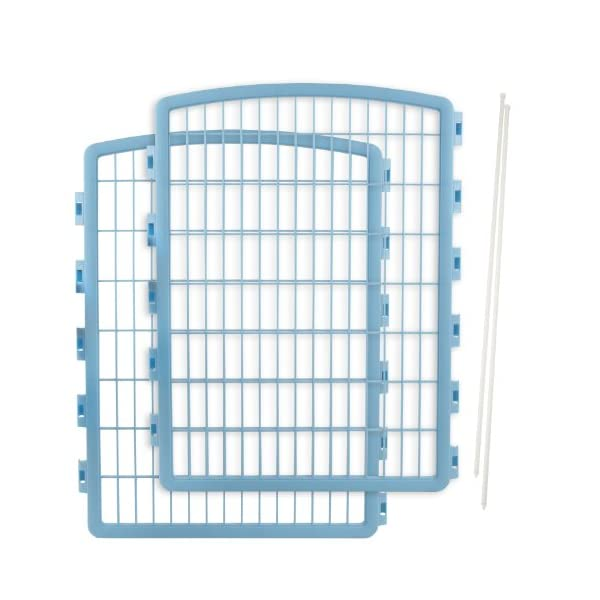 IRIS USA Add-On Panels for IRIS 34-inch Exercise Pet Playpen, Blue Click on image for further info.