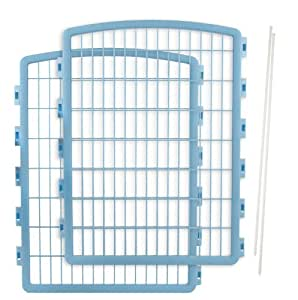 IRIS Plastic Pet Playpen/2-Panel Add-on for 8-Panel Pen