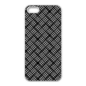 Simple fashion elegant design pattern Phone Case for iPhone 5S(TPU)