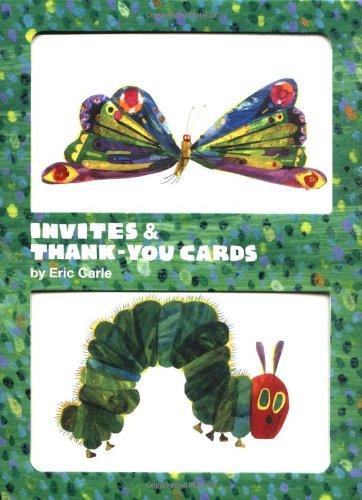 Eric Carle Invites & Thank-You