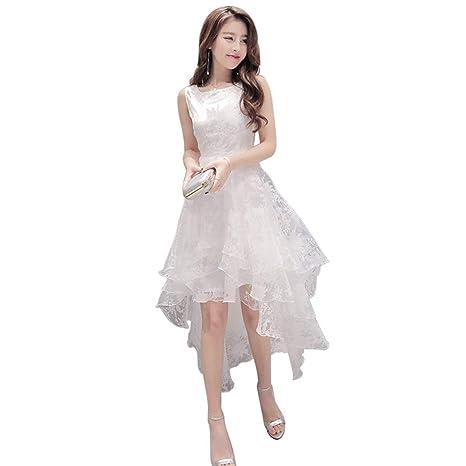 diseño hábil envío complementario Garantía de calidad 100% TQ Contifan Vestido Elegante de Organza de Verano Elegante ...