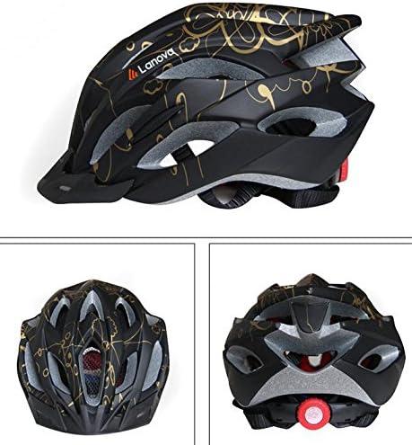 LANOVA HBJ Cascos casco de moto para bicicleta de montaña adulto ...