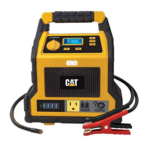CAT - 3 in 1 Professional Power Station with Jump Starter and Compressor - 4...