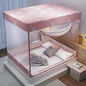 Antipolvere Yurt zanzariera, 1,8 m Letto 1,5 m casa 2m goccia a prova di Child Support completamente chiusa cerniera… 2 spesavip