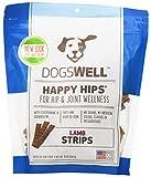 happy hips chicken strips - Happy Hips Lamb Jerky Strip Dogswell Dog Treat, 12-Ounce