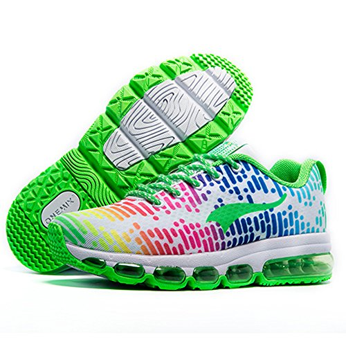 Fitness Onemix White Women's green Air Running Men's Shoes Lightweight Sports Gym Trainers Walking YqrYwAx